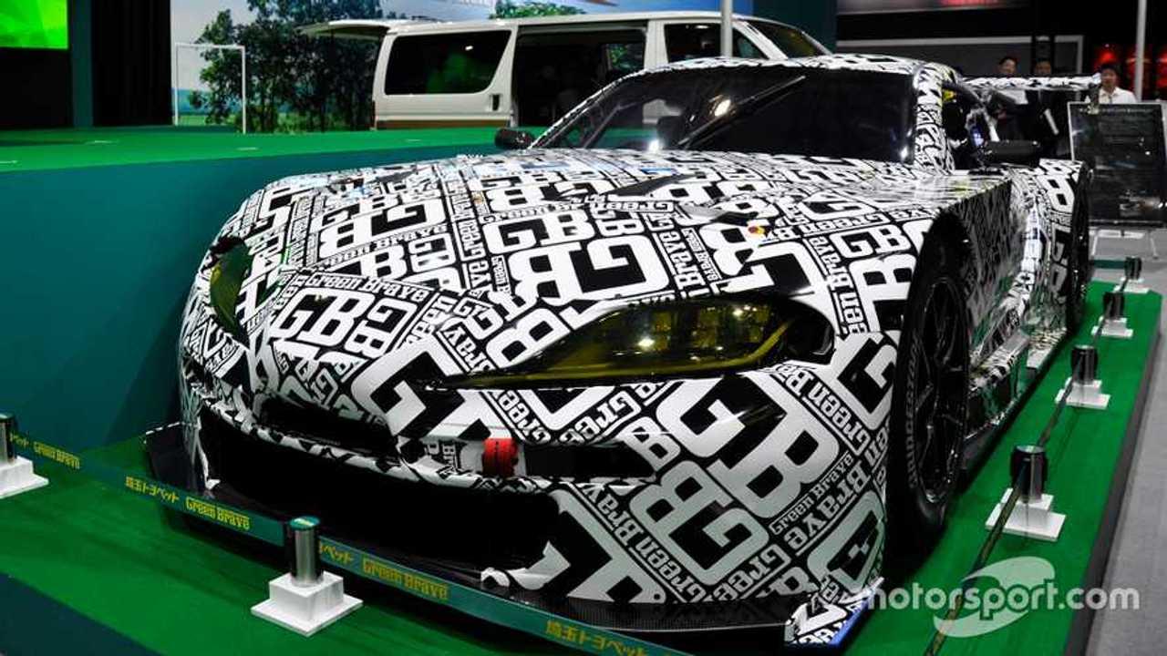 Toyota Supra GT300 at Tokyo Auto Salon 2020