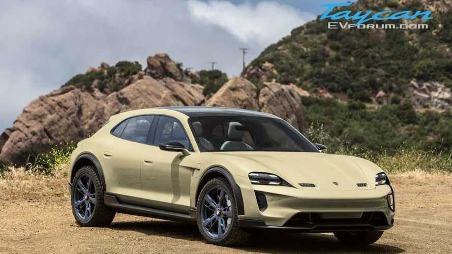 Porsche Taycan Cross Turismo Rendered In New Colors