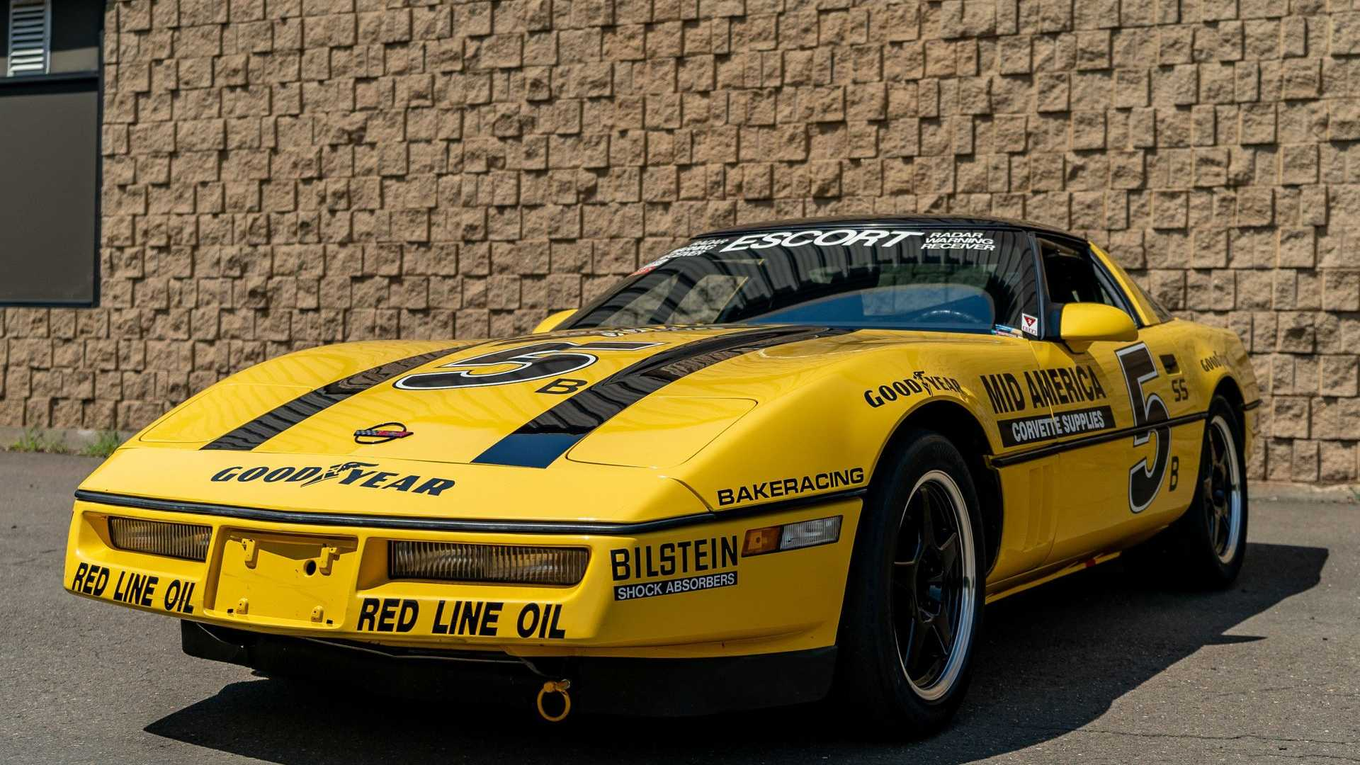 "[""Live Your Racing Dreams With A 1987 Chevy Corvette""]"