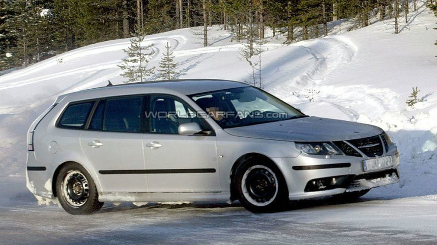 SPY PHOTOS: More Saab 9-3 Facelift