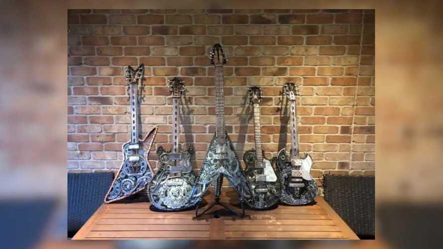 Adam Tovell-Soundy's Moto Guitars