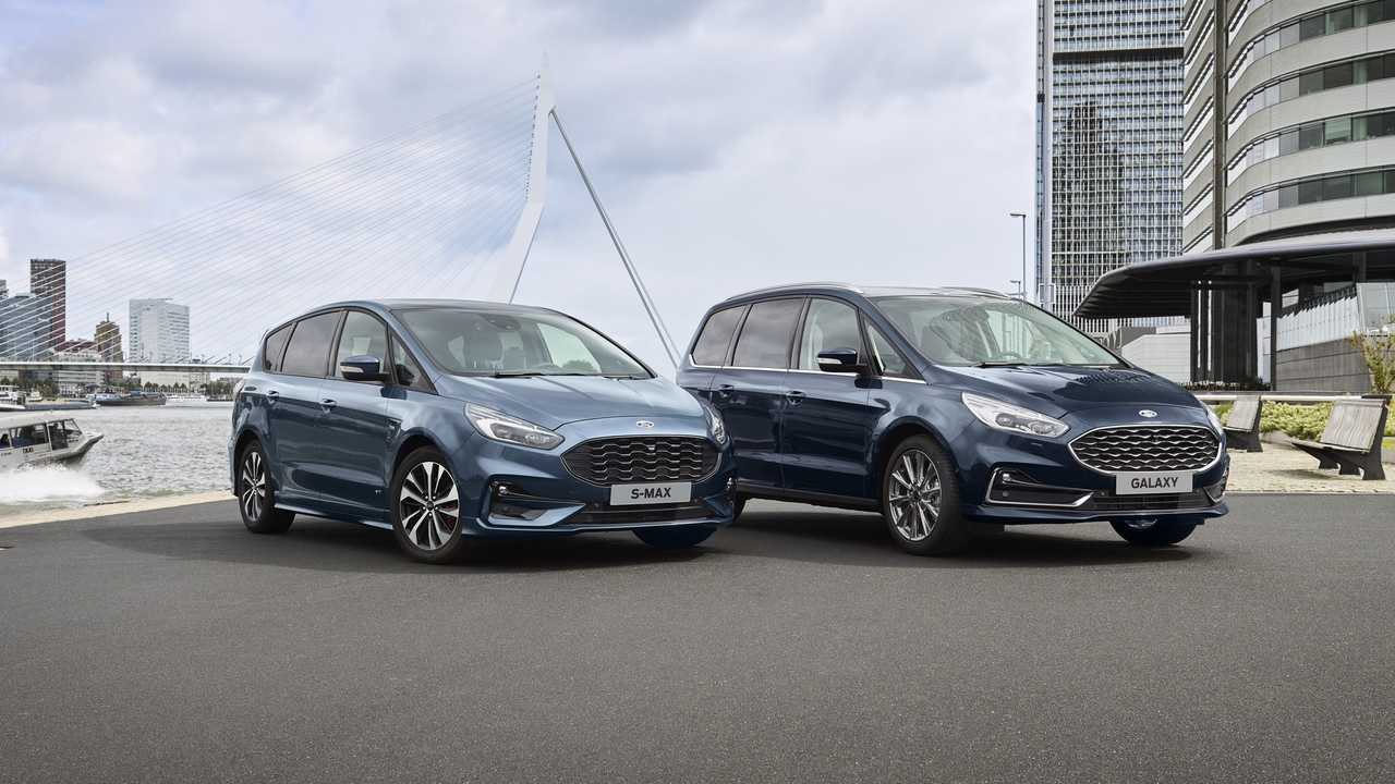 Ford S-Max et Galaxy hybrides