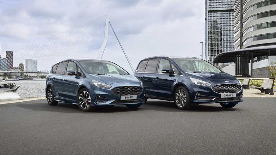 Les Ford S-Max et Galaxy reçoivent une version hybride