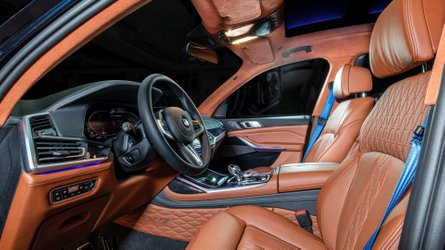 Unhappy with BMW X7's plastic surfaces, Vilner adds lots of leather