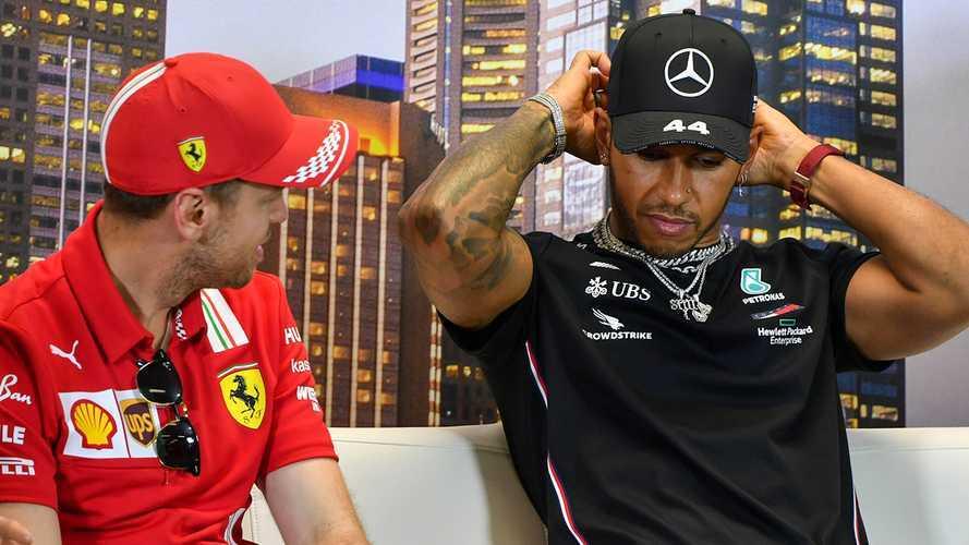 Mercato F1: Vettel e Hamilton due rinnovi a motori spenti