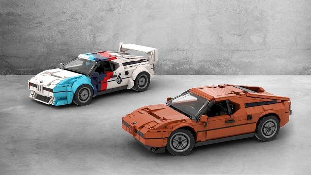 Lego Ideas: BMW M1 by TOMOELL