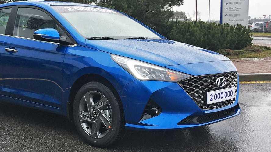 7 первых впечатлений от обновлённого седана Hyundai Solaris