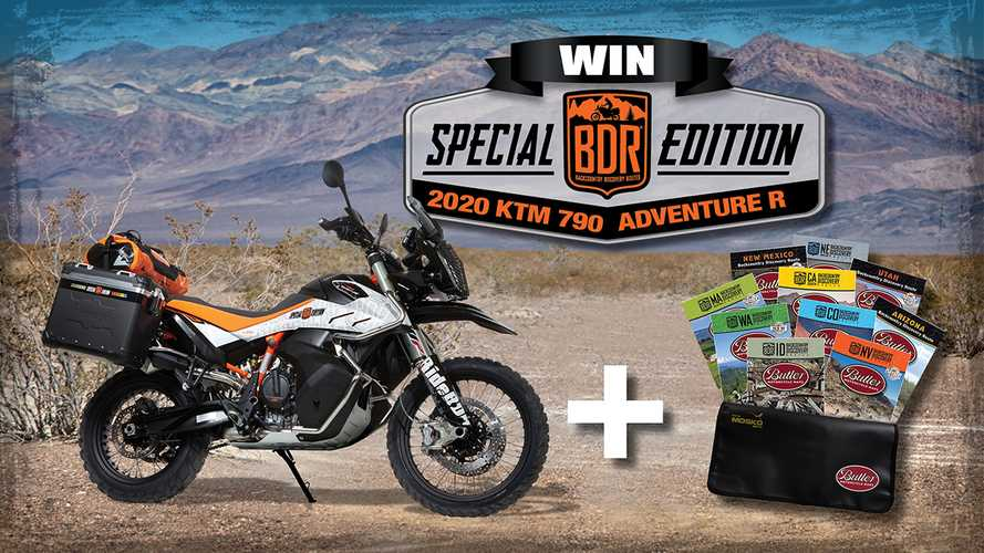 Donate To BDR And Win A Special-Edition KTM 790 Adventure R