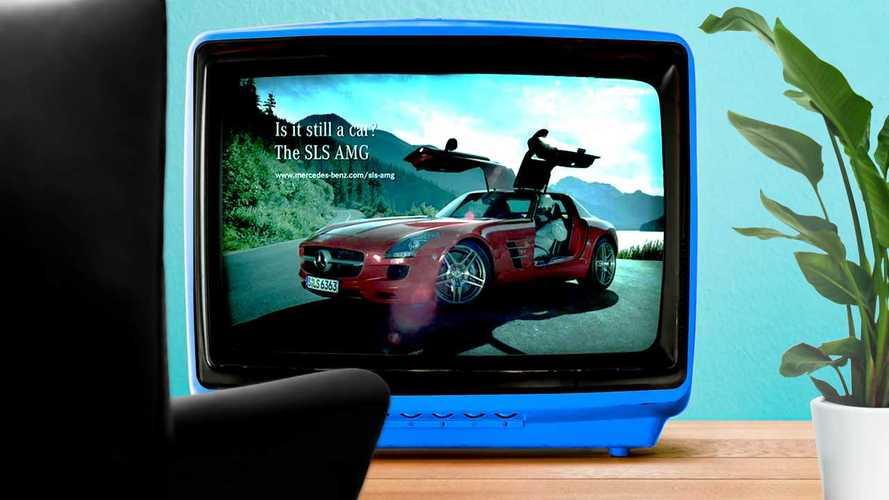 Spot pubblicitari dimenticati, quello della Mercedes SLS AMG
