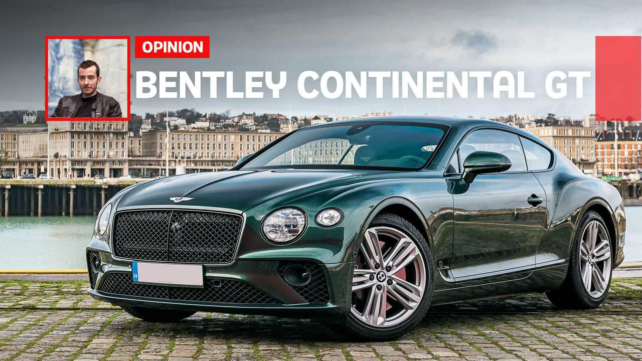 Essai Bentley Continental GT