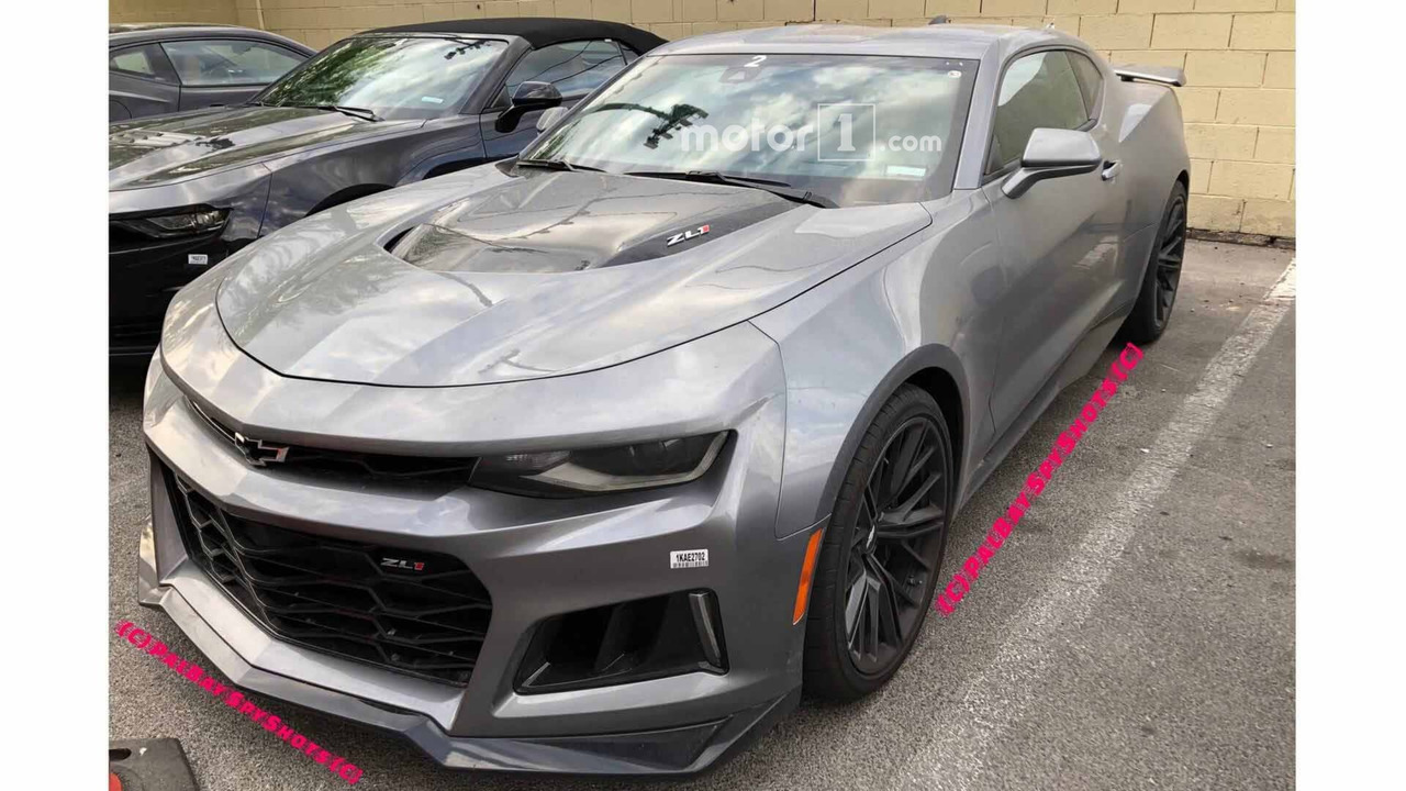 2019 Chevy Camaro SS Spied Testing With ZL1