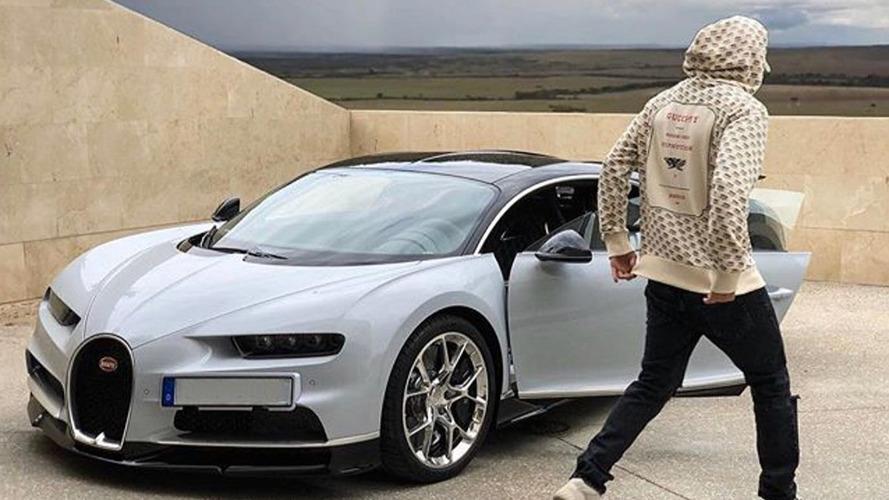 Karim Benzema s'offre une belle Bugatti Chiron !