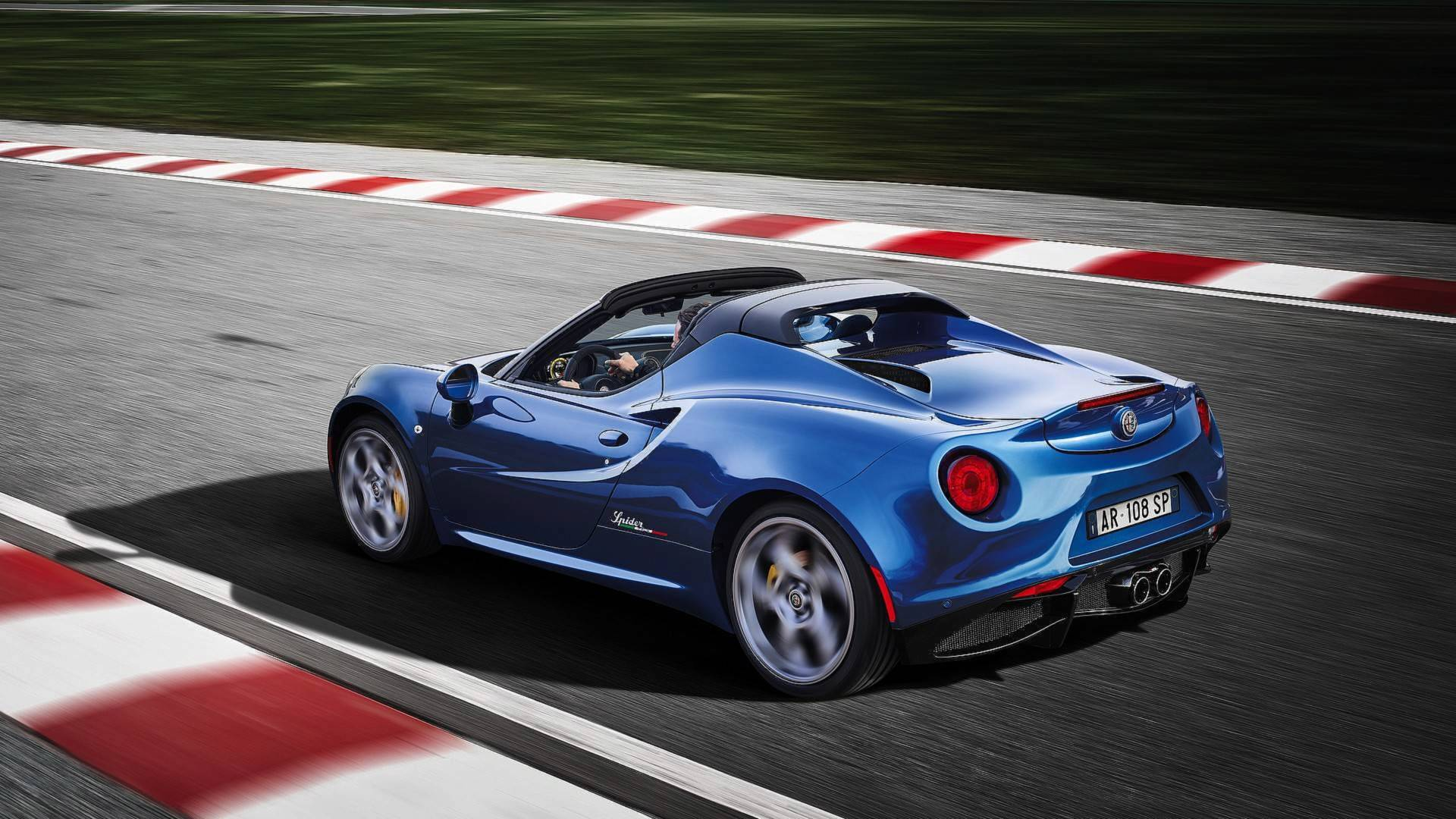 Alfa Romeo Kills Its Lightweight 4C Sports Car