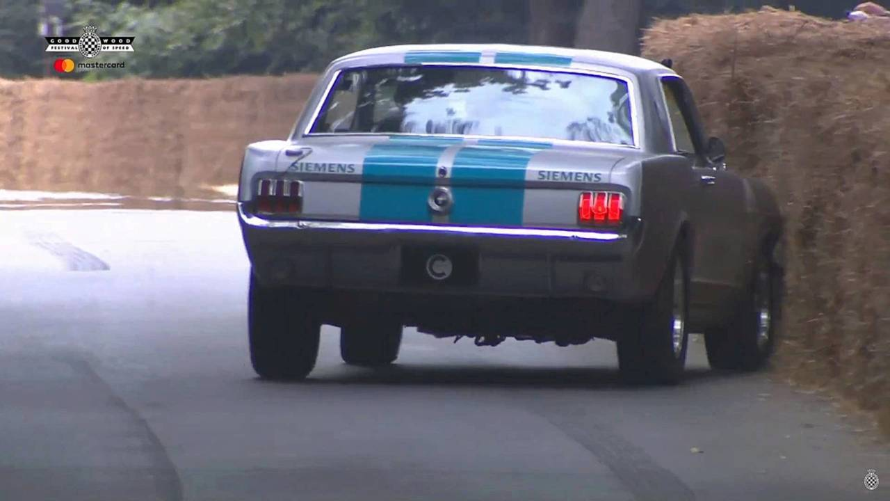 Autonomous 1965 Ford Mustang