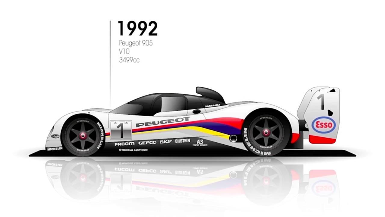 1992: Peugeot 905 Evo 1B