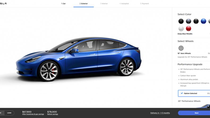 Tesla Model 3 Orders Books Now Open To All In U.S.