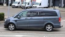 Mercedes-Benz V-Class facelift spy photo