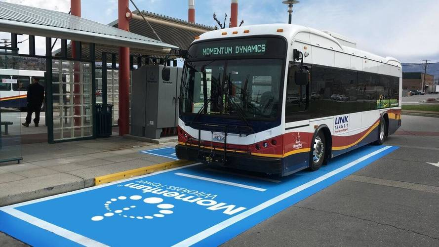 U.S Gets Its First Wireless Fast Charging Bus