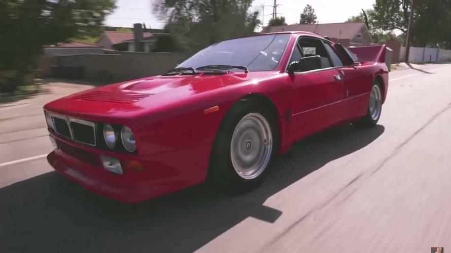 1982 Lancia 037 Stradale Makes A Pitstop At Jay Leno's Garage