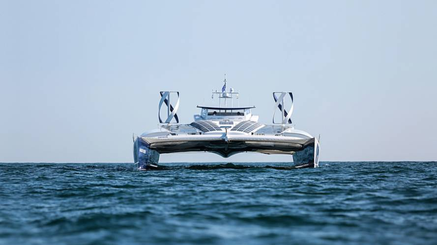 Toyota Backing Hydrogen Boat World Tour