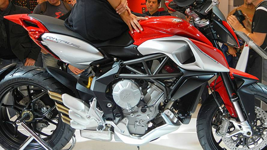 Up close with the MV Agusta Rivale