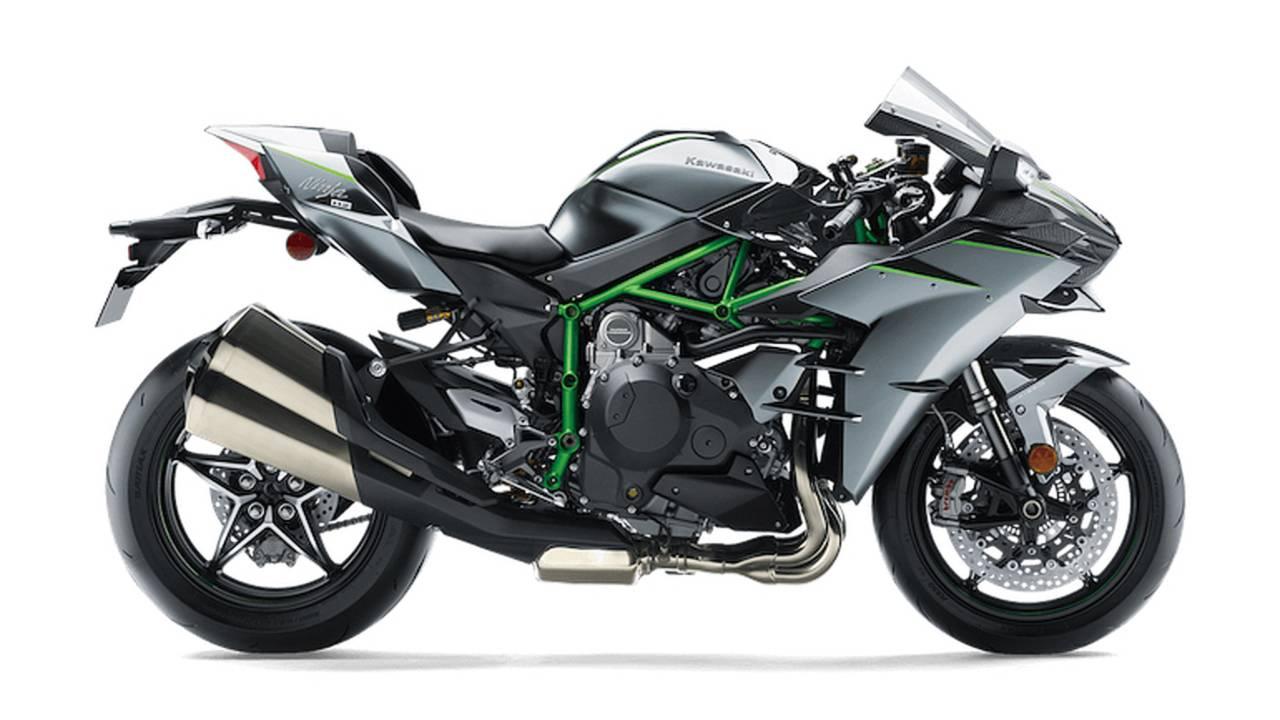 Kawasaki Reveals New Ninja H2 Series