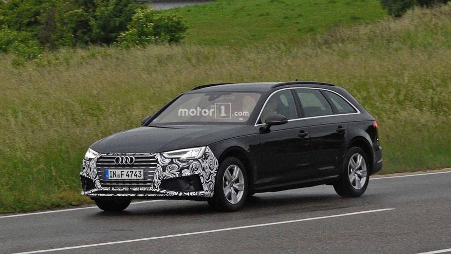 Yeni Audi A4 Casus Fotoğraflar