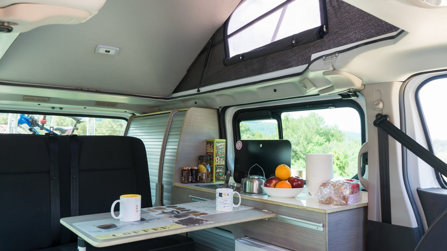 nissan reveals a duo of camper vans in spain. Black Bedroom Furniture Sets. Home Design Ideas