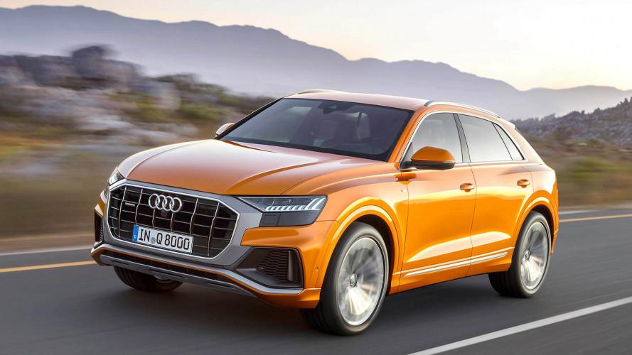 Der Audi Q8 startet