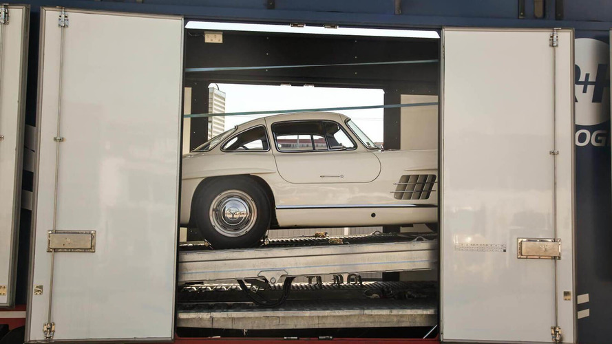 Brace Of Untouched Mercedes-Benz 300 SLs Up For Auction