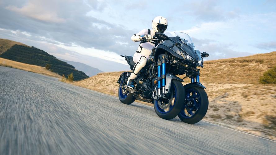 Yamaha Niken, a moto de três rodas, começa a ser vendida