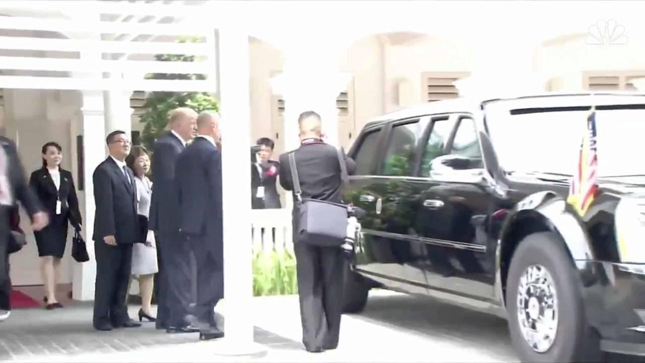 Trump And Kim Jong-Un Check Out Beast