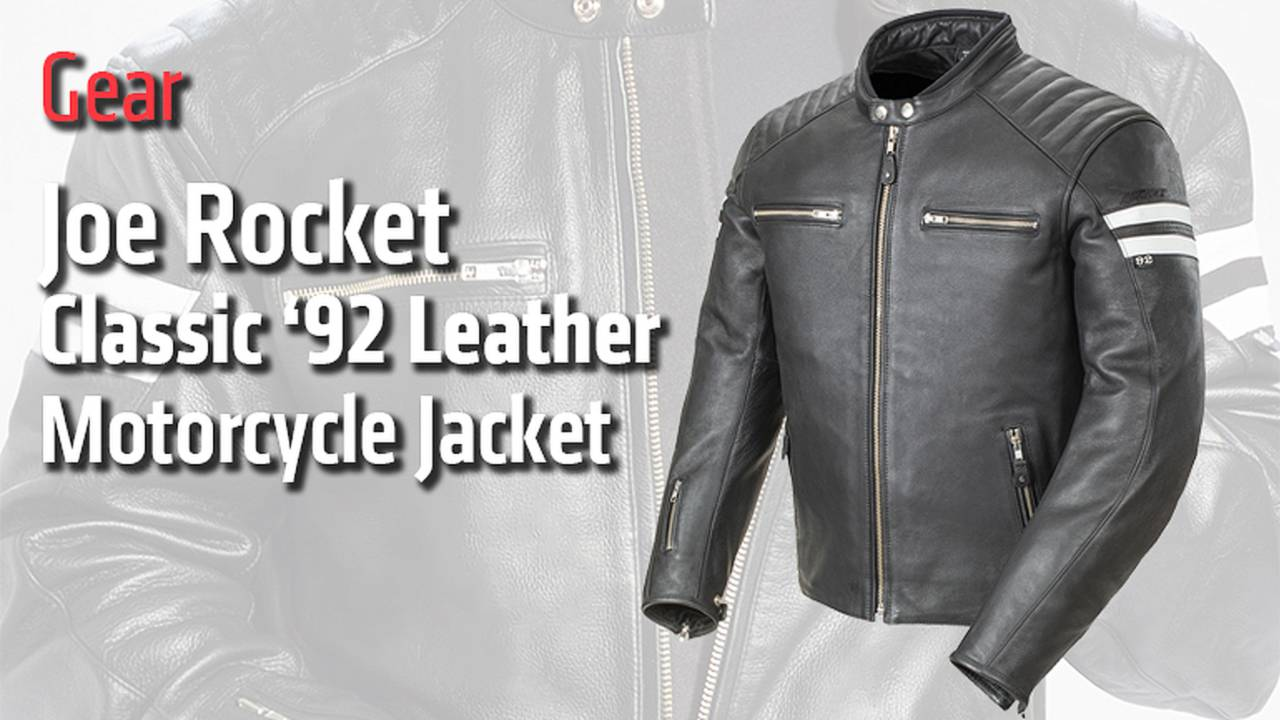 Gear: Joe Rocket Classic '92 Leather Motorcycle Jacket - Review