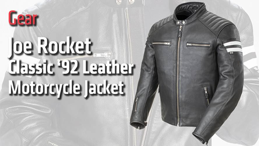 Gear: Joe Rocket Classic '92 Leather Motorcycle Jacket - Review
