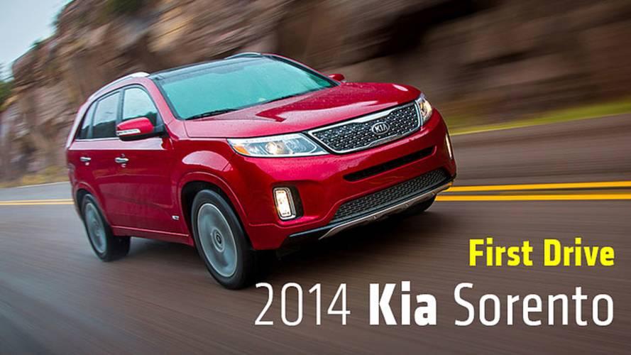 First Drive: 2014 Kia Sorento