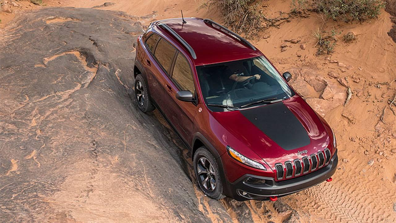 2014 Jeep Cherokee terrain