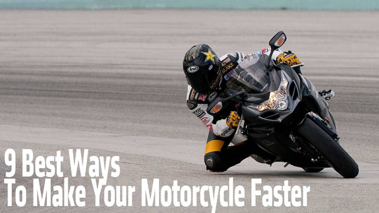 9 Best Ways To Make Your Motorcycle Faster