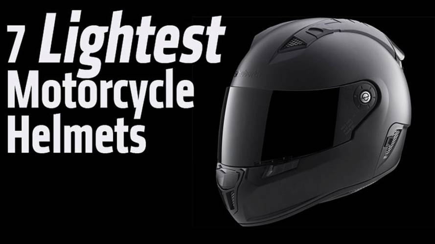 7 Lightest Motorcycle Helmets Available
