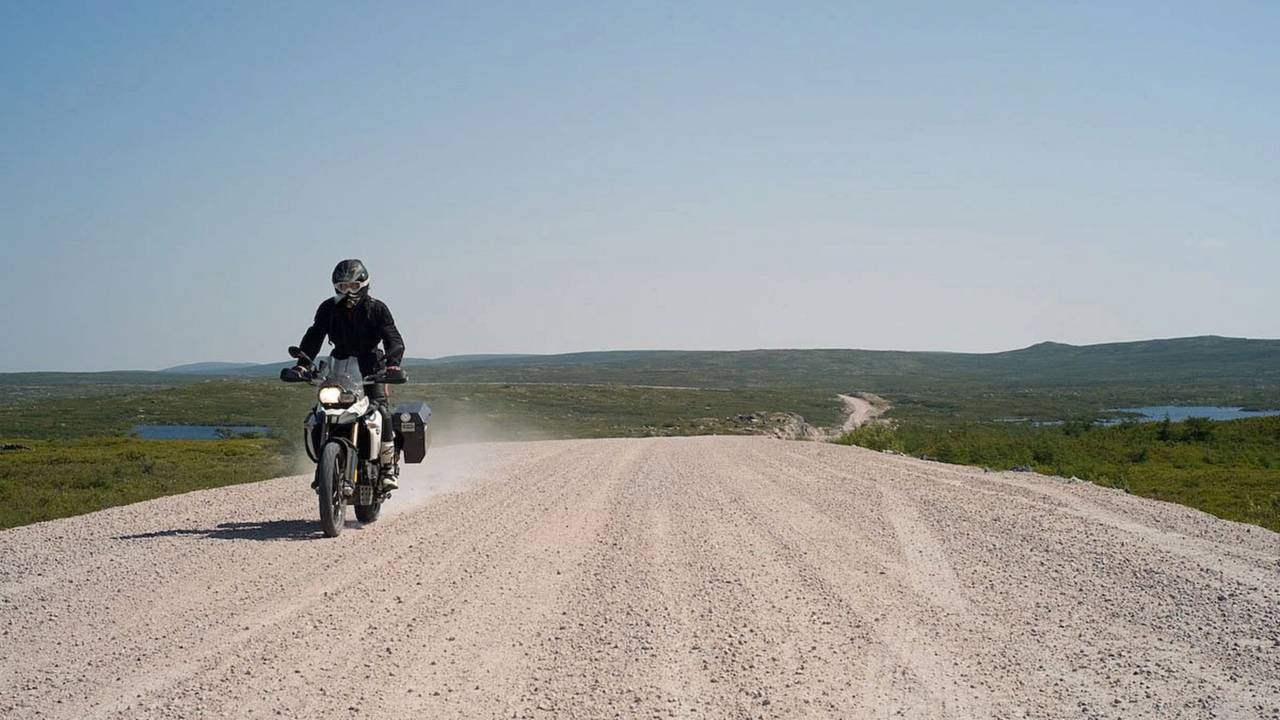 The F 800 GS's seat is so poor, I stood most of the way from New York to Labrador and back.
