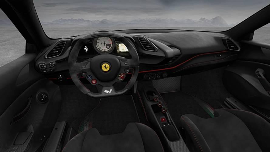 Piloti Ferrari Interior