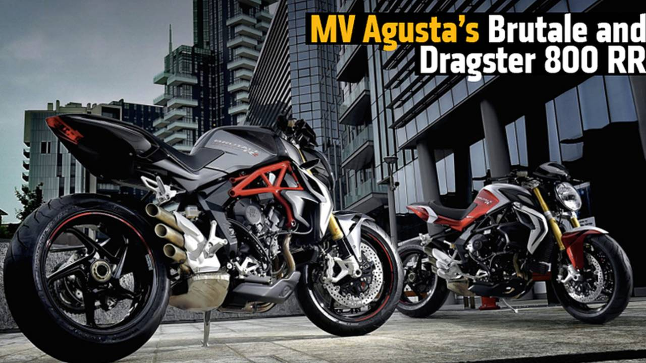 MV Agusta's New Brutale and Dragster 800 RR Motorcycles