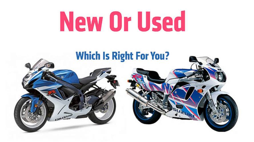 Buying a New Or Used Motorcycle — Which Is Right For You?