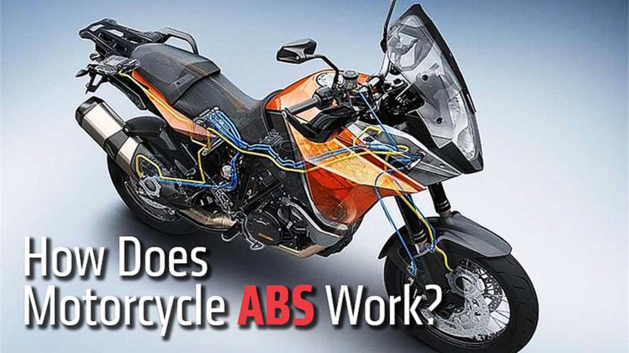 How Does Motorcycle ABS Work?