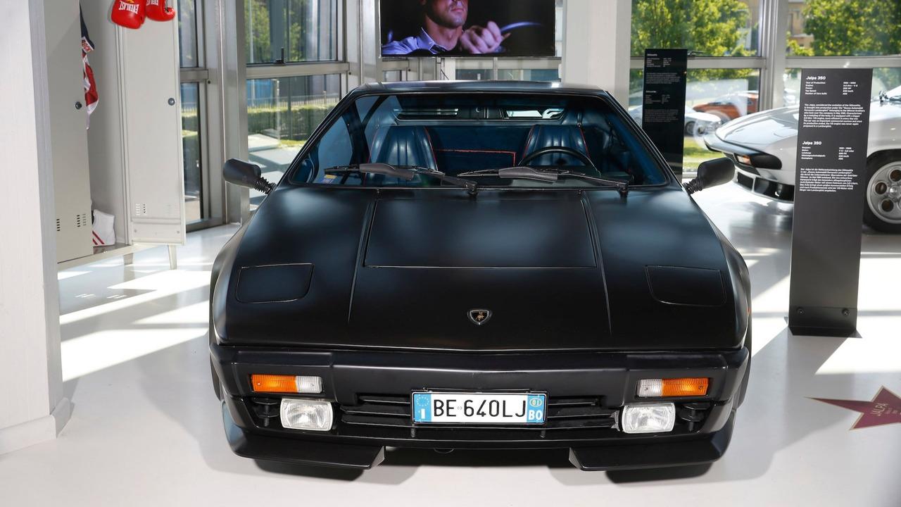 3. Lamborghini Jalpa (Rocky IV, 1985)