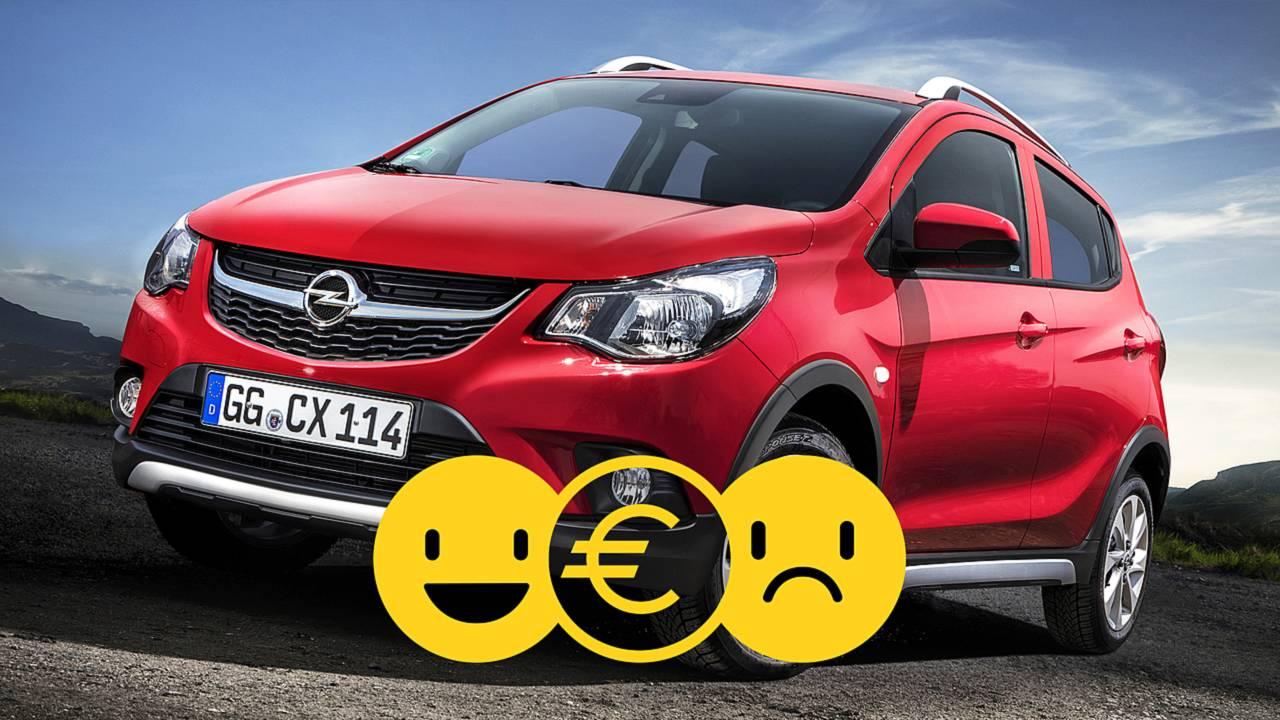 Opel Karl Rocks, la prova