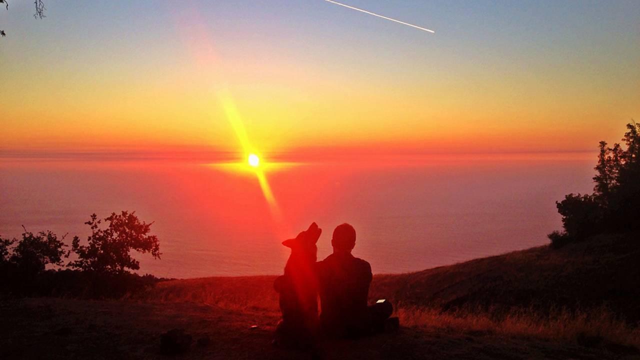 Sunset at Prewitt Ridge