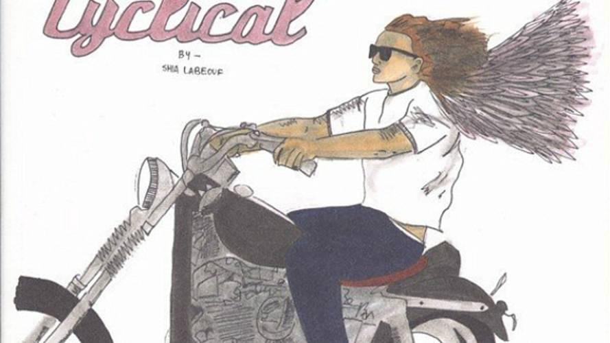 Shia Lebeouf's biker comic