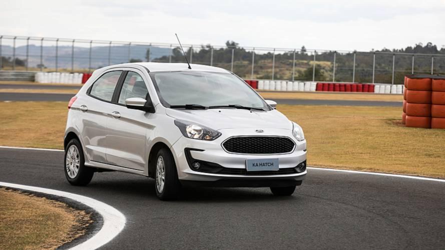 Ford Ka 2019 chega às concessionárias com preço inicial de R$ 45.490