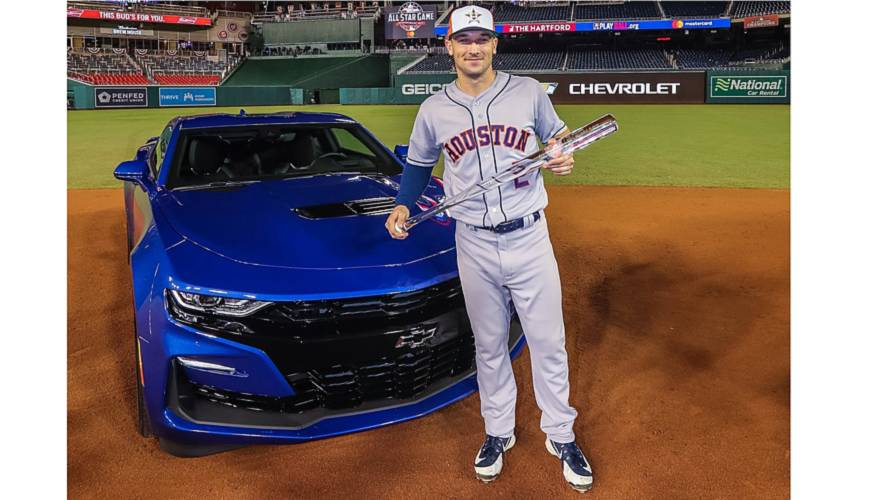 MLB All-Star Game MVP Alex Bregman Wins 2019 Chevy Camaro SS