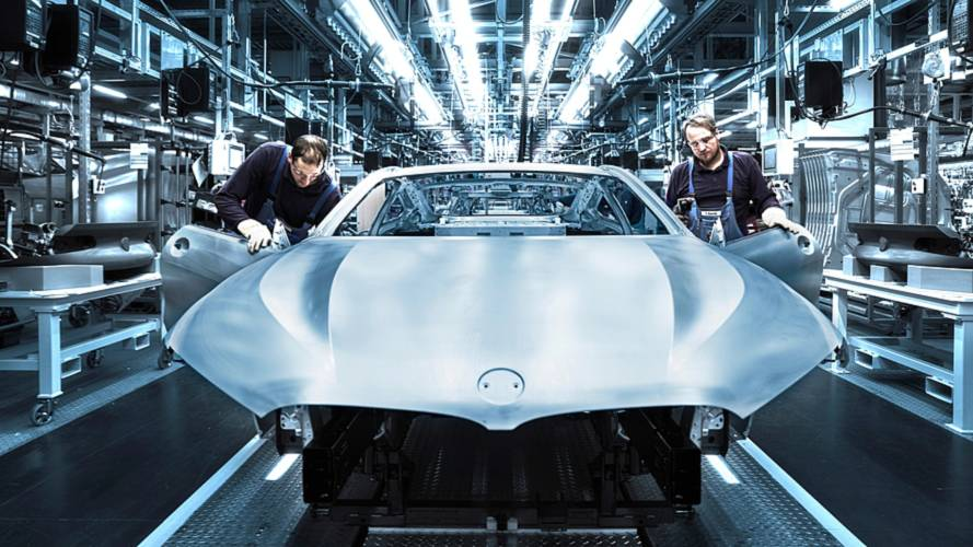 BMW Série 8 (2018) en production